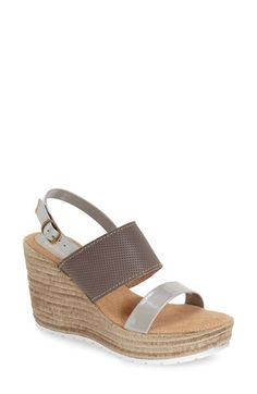 Sbicca 'Cucamonga' Wedge Sandal (Women) available at #Nordstrom