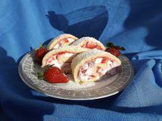 Vahukoore-maasika rullbiskviit
