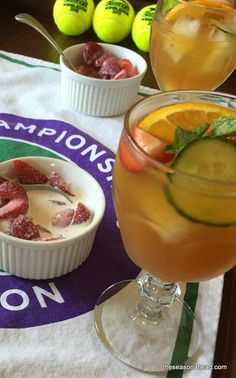 Wimbledon Finals: Time for Pimms and Strawberries and Cream