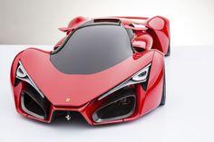 Auto Universe | Automobile, Car News, Reviews, Information, Blog : Ferrari F80 a ultra sleek Supercar Concept | Auto Universe