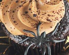 Cupcakes D'halloween, Fall Recipes, Html, Bikini, Autumn, Halloween Kitchen, Cocoa Butter, Dessert Recipes, Bikini Swimsuit