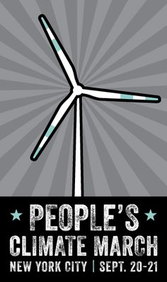 RSVP The People's Climate March, this Sept 20-21, 2014, will be the biggest climate march of all time. Be there or be a trapezoid! Click through to learn more!