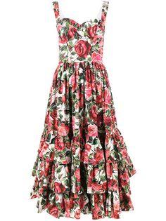 Dolce & Gabbana Vestido midi floral