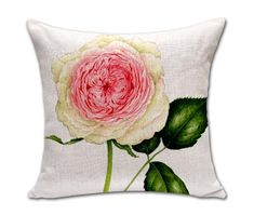 """Square 18"""" Cushion Without Insert Flowers Printed Decorative Sofas Throw Waist Cushions Car Seat Pillows Outdoor Decor"""