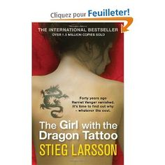 THE GIRL WITH THE DRAGON TATTOO (n°1 trilogy)  Stieg Larson