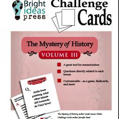 The Mystery of History, Volume III Challenge Cards