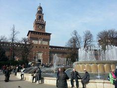 Castello sforzesco in milan #milan #castle #cairoli