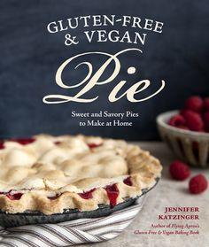 random fact: I'm the hand model for this cook book!  (Sasquatch Books : Gluten-Free & Vegan Pie. Image © Charity Burggraaf)