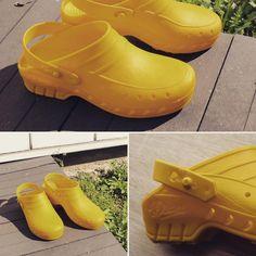 0247f103f981 Chaussures de cuisine jaune #lisashoes #dian #lisavet #cook #hospital  #security