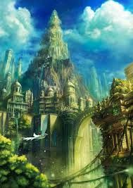 Image result for fantasy city of ice