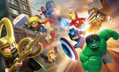 LEGO Marvel Heroes - pumped for this to come out!