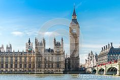 Image of famous, architecture - 39650337 Big Ben London, London Photography, Elizabeth Ii, Westminster, Britain, Palace, Third, Tower, England