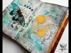 A time lapse video of my week 101 Journal on Monday Find me on my blog: www.france-papillon.com or on facebook: www.facebook.com/StudioFrancePapillon