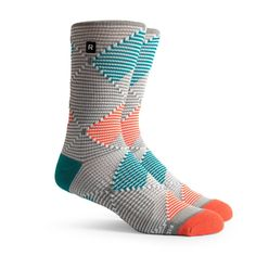The classiness of argyle mixed with the design of an athletic sock - have a little fun in the gym!