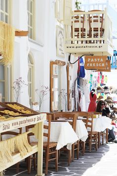 Pasta Shop, Mykonos / Chora