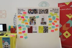 Virginia Commonwealth University, Qatar (2016). Student Ambassador, Rad Evidientes got students involved in Fashion Revolution. They put post-it stamps on a board of their favourite fashion brands and where they thought their clothes were made.