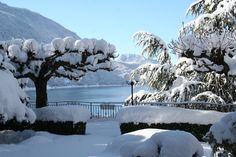 Garden - Winter 2012 | Hotel Miralago | Molveno, Italy