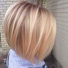 Really modern bob haircuts for fine hair