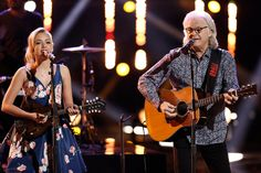 Emily and Ricky Skaggs