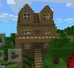 Minecraft house I made :-) Minecraft Games, Minecraft Stuff, Minecraft Ideas, Minecraft Architecture, Minecraft Buildings, Building Map, M Craft, Minecraft Birthday Party, Simple Life Hacks