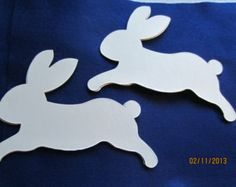 bunny shapes templates