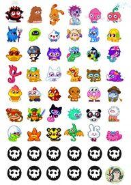 Snowballs in Summer: Moshi Monster party - the cake Monster Birthday Parties, Monster Party, Moshi Monsters, Leelah, Christian Love, Animal Jam, Weird Creatures, Planner, Cute Illustration