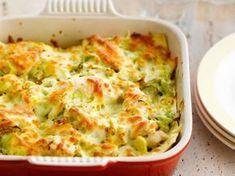 Lasagnes au poulet et aux poireaux, facile et pas cher : recette sur Cuisine Actuelle