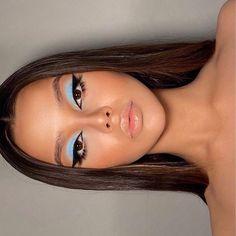 Cute Makeup Looks, Makeup Eye Looks, Creative Makeup Looks, Eye Makeup Art, Pretty Makeup, Skin Makeup, Beauty Makeup, Makeup Stuff, Eye Makeup Designs