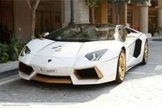 Super exotic cars and high-end Middle Eastern shops seem to go hand in hand with