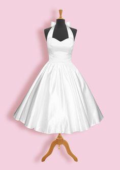 ¿Qué te parece este vestido para una boda civil? <3  #Midíaperfecto