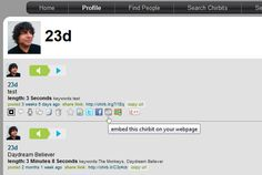chirbit: How to embed audio on your blog #iste12 Find People, Daydream, Believe, Software, Audio, Tools, Education, Blog, Instruments