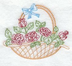 Rose Basket (Vintage)