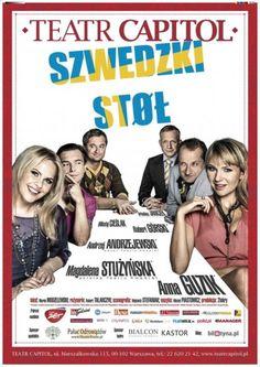 W tym tygodniu do wygrania są aż DWA podwójne zaproszenia na spektakl 'Szwedzki stół', które odbędzie się 17 grudnia 2012 roku o godzinie 19:30 w teatrze Capitol w Warszawie. Więcej informacji o konkursie na naszym blogu - zapraszamy.