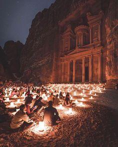 "66.9k Likes, 715 Comments - Earthpix 🌍🌏🌎 (@earthpix) on Instagram: ""Beautiful scene in Jordan. Tag who you'd sit with! PC: @jameslloydcole"""