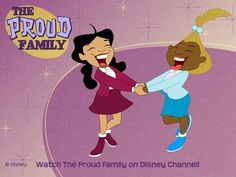 the proud family early 2000's show:p