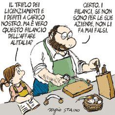 Sergio Staino - l'Unità 27 agosto 2008