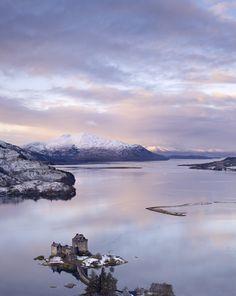 Eilean Donan and Loch Duich, Kyle of Lochalsh, Scotland