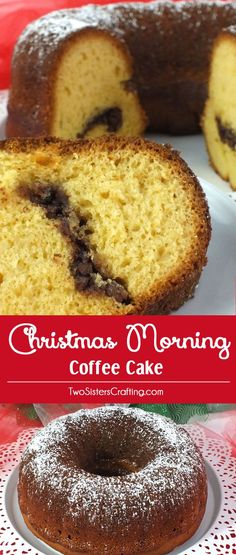 Christmas Morning Coffee Cake is one of our favorite Christmas Desserts - a deliciously moist bundt cake with a unique hint of sherry wine. It's one of the best Christmas Treats and it is always a crowd favorite at Christmas. This is definitely the best Christmas Cake that you've never heard of! Follow us for more great Christmas Food ideas!