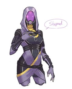 Mass Effect, Normandy, Video Games, Rabbit, Fanart, Drawings, Fictional Characters, Normandie, Bunny