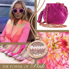Rose Gold and Pink.the perfect combination, from Mi Moneda Old Coins, Jewelry Branding, Luxury Jewelry, Chanel Boy Bag, Pink, Rose Gold, Shoulder Bag, Jewels, Pendant