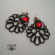 rękodzieło nami: Hiszpańskie kolczyki (Spanish earrings)