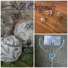 This page was created to promote my jewelry. I have a large inventory of jewelry always on hand, but am also available to do custom orders for birthdays, weddings, and other special events. Please contact me if you are interested in viewing my inventory, or need something special made.  https://www.facebook.com/vzoriginals1969?hc_location=timeline