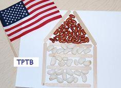 Rustic Log Cabin Craft for Preschool and Kindergarten
