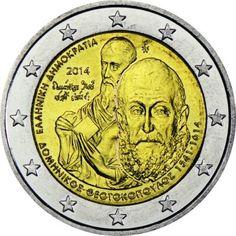 2 Euro CuNi Domenikos Theotokopoulos UN