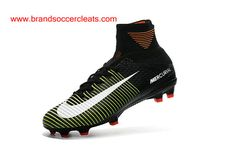 78ac86bd58c Nike Mercurial Superfly V FG - Black Electric Green White sale off · popup.