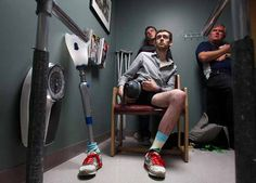 """David Ricci lost his leg after he was struck by a train in India. As he recovers, he has found solace in his faith. """"I don't want my life to be about sadness,"""" he says. """"I want it to be about joy."""" #goodreads (Photo by Sarah Weiser, The Herald)"""