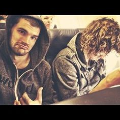 For King and Country (Joel and Luke) I love how Luke is like: where's my stuff? And Joel be like: just go with the flow!