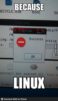 Linux, so irritating sometimes