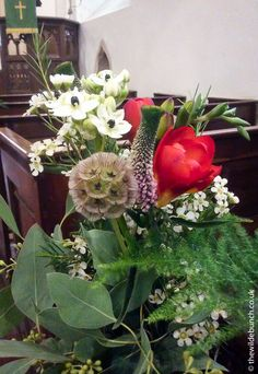 Floral church pew ends by top Bristol Wedding florists, The Wilde Bunch. Church Wedding Flowers, Aisle Flowers, Pew Ends, Florists, Bristol, Big Day, Crates, Garland, Floral