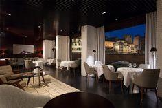 ideo for lungarno restaurant Firenze #ferragamo #firenze #cordless #restaurant #lamps